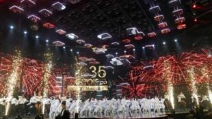 La cérémonie des 35e Victoires de la musique s'est tenue le 14 février au soir à Paris.