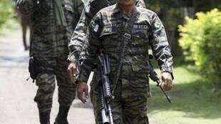 Một nhóm quân du kích kiểm soát trục giao thông vùng Sultan Kudarat, tại Philippines (REUTERS)