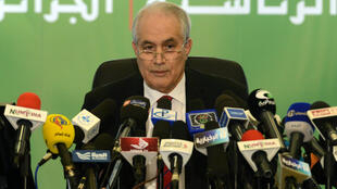 Former Constitutional Council president, Tayeb Belaiz, who has been replaced by Kamel Feniche