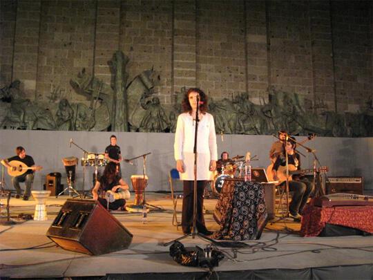 Radaid in concert in Guadalajara.