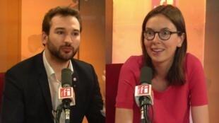 Amélie de Montchalin et Ugo Bernalicis, invités de Mardi Politique.