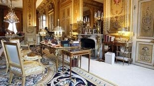 A room of the Elysée Palace open for European Heritage Days.