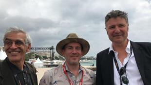 De gauche à droite : Tahar Chikhaoui (Tunisie), Peter Debruge (Variety, États-Unis), Patrick Straumann (Neuer züricher Zeitung).
