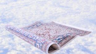 Les tapis volants peuvent transporter vers des rêves bleus...