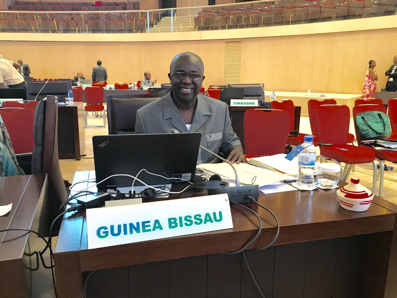 Soares Sambú, vice-primeiro-ministro da Guiné-Bissau.