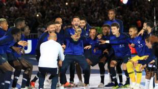 Французская федерация организовала главную футбольную вечеринку года после матча Лиги наций на «Стад де Франс»