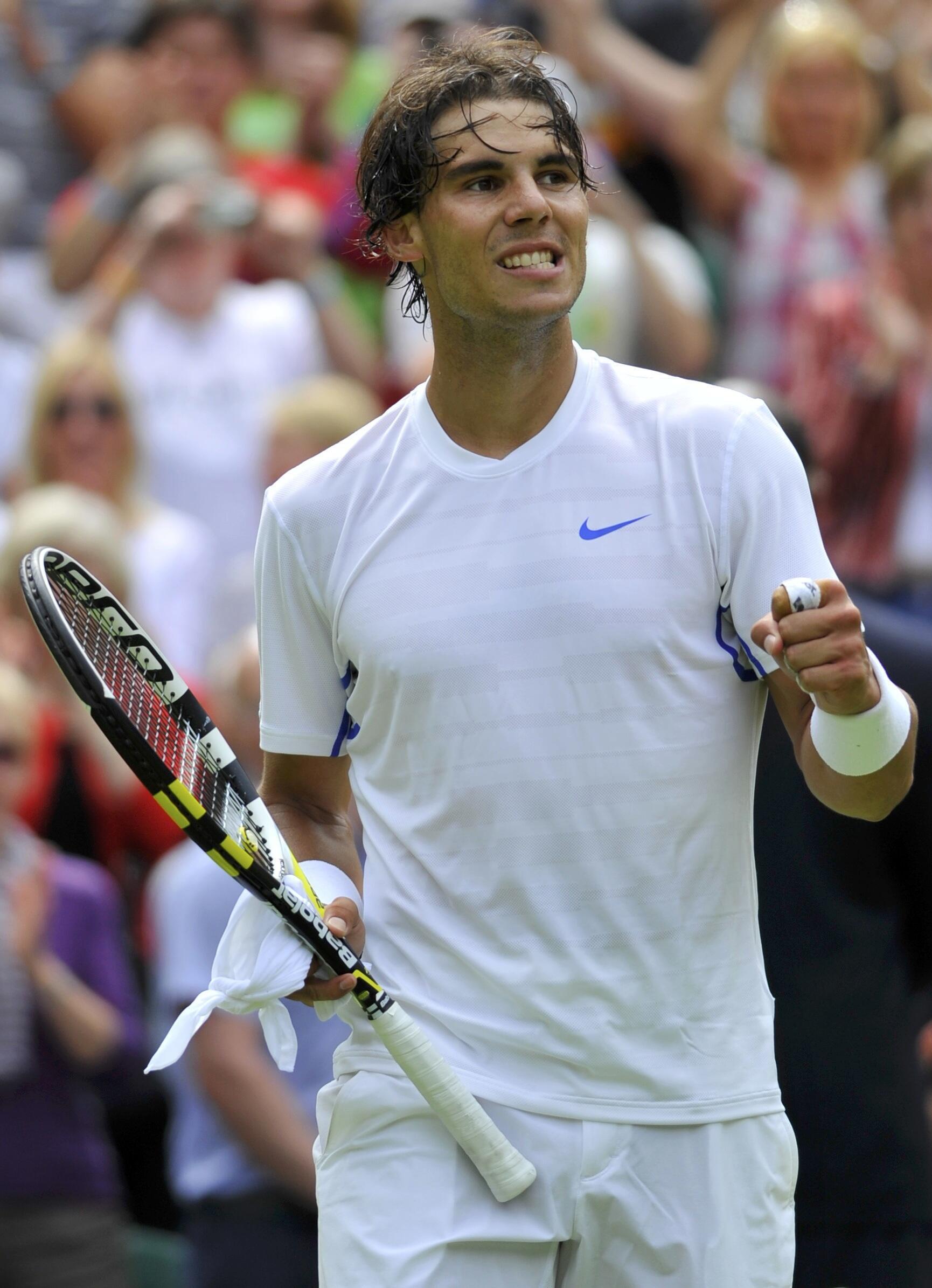 O tenista espanhol Rafael Nadal.
