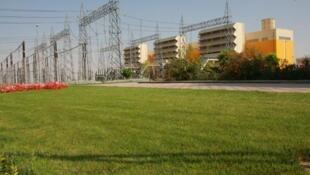 La centrale électrique de Rudeshur, en Iran.