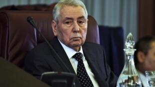 Abdelkader Bensalah, président du Conseil de la nation, le 7 février 2019.