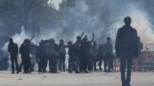 Lors de l'acte 23 de la mobilisation des «gilets jaunes», certains manifestants ont lancés des appels au suicide à des membres des forces de l'ordre (photo d'illustration).