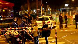 Roubo a joalheria da Cartier, situada na rua François I, mobilizou cerca de 100 policiais..
