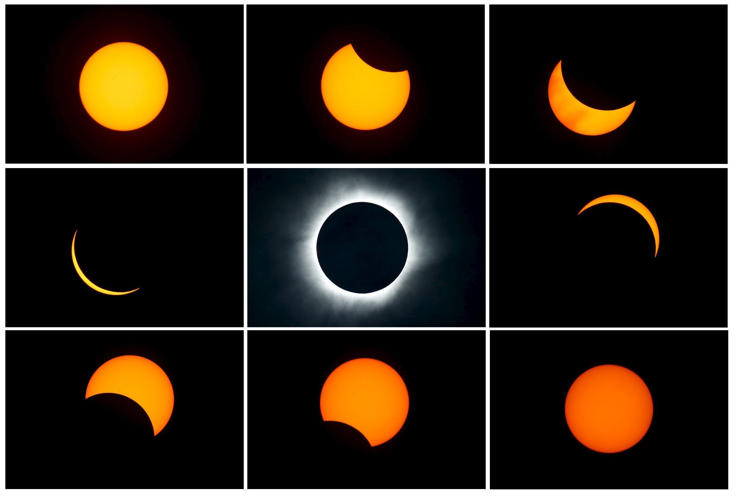 2019-12-04 astronomy sun moon total solar eclipse Ternate island Indonesia