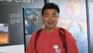 O professor americano Kim Sang-Duk, preso na Coreia do Norte desde abril.
