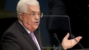 Shugaban yankin Falasdinu Mahmoud Abbas