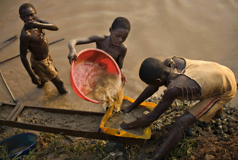 RDC - cobalt - travail des enfants