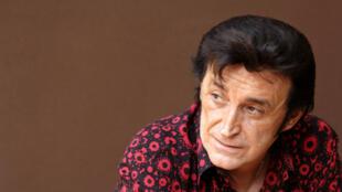 O cantor Dick Rivers em 2006.
