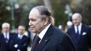 Algerian President Abdelaziz Bouteflika last year