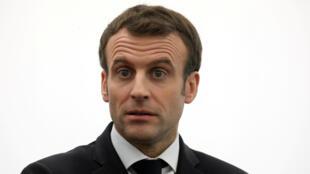 El presidente Macron