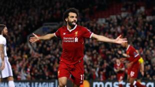 Mshambuliaji wa Misri na klabu ya Liverpool Mohamed Salah.