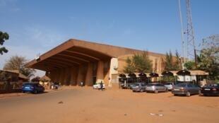 La gare de Ouagadougou, capitale du Burkina Faso