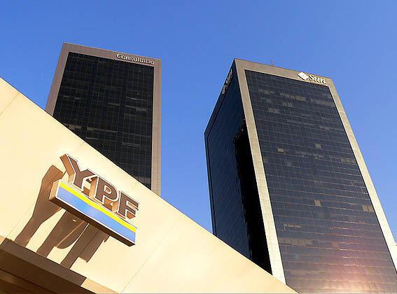 Sede da empresa YPF, em Buenos Aires.