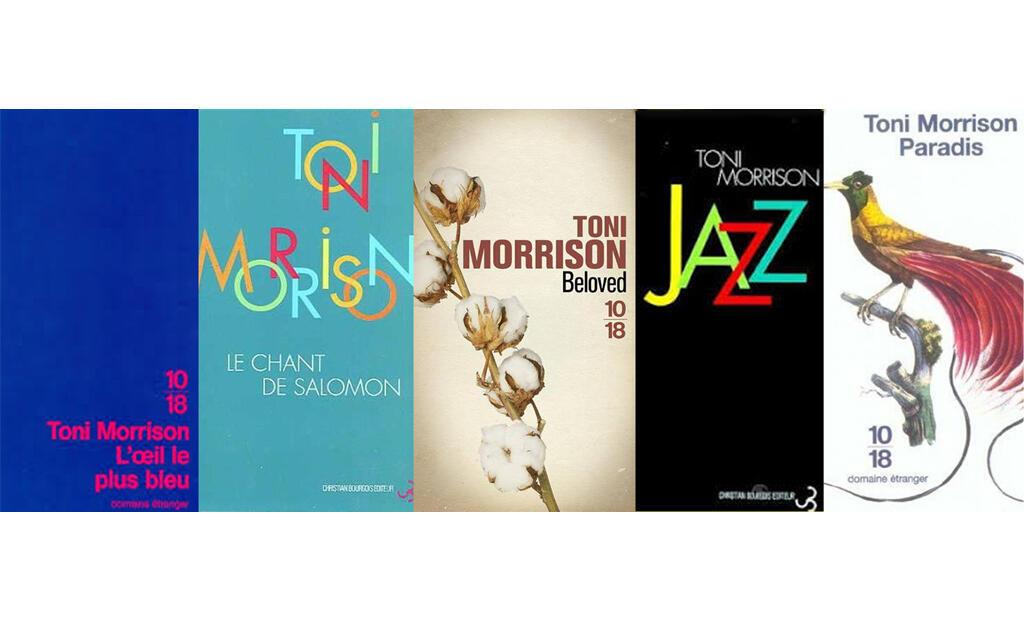 Cinq romans phares de l'Américiane Toni Morrison qui vient de disparaître.