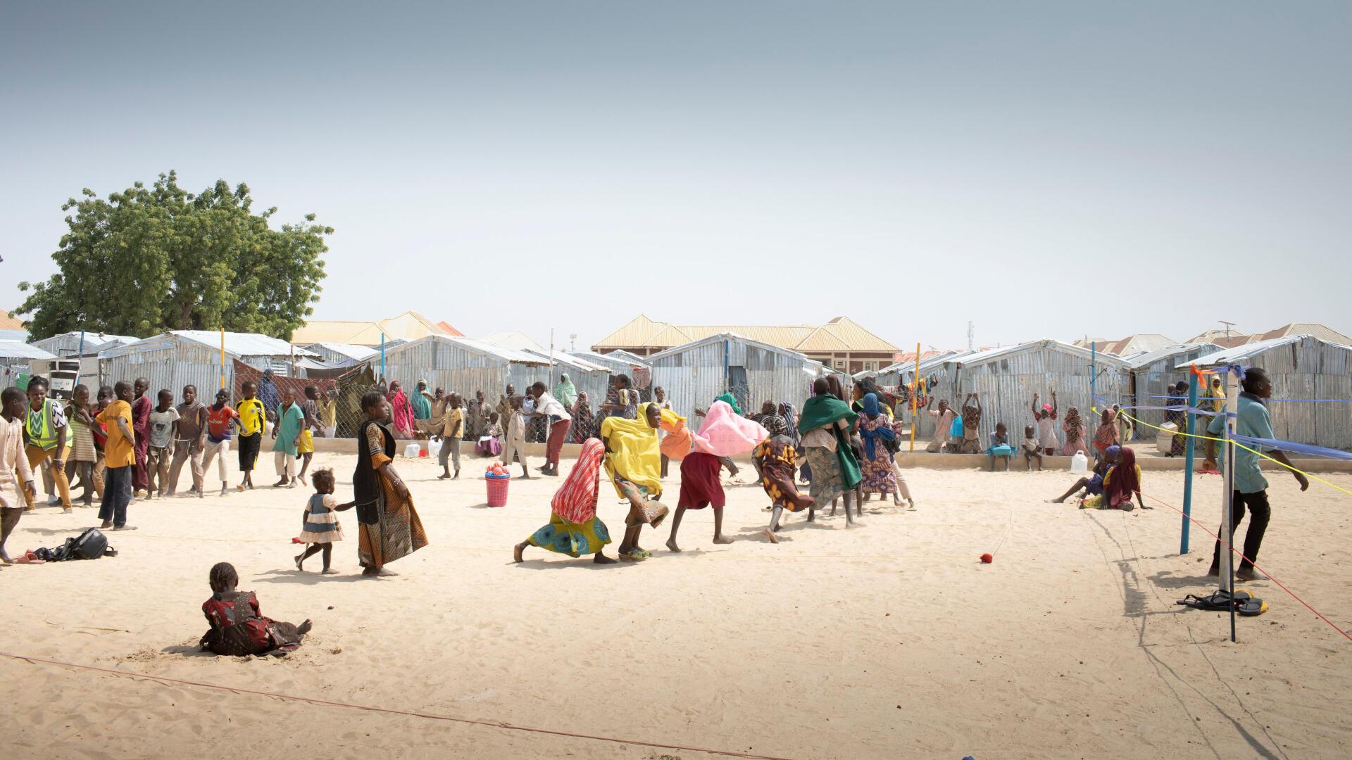 Un enfant dans un camp de réfugiés, au Nigeria, près de Maiduguri, le 4 février 2020 (image d'illustration).