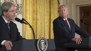 "During a press conference with Italian Prime Minister Paolo Gentiloni on 20 April 2017, US President Donald Trump said a strong Europe is ""important"" to the US."