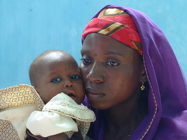 Amina Lawal was sentenced to death by stoning by a Sharia court for having a child out of wedlock