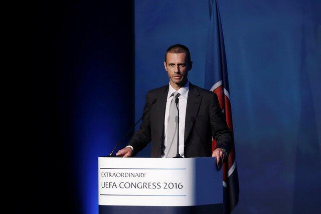 Aleksander Ceferin, novo presidente da UEFA eleito em Atenas em 14 de setembro de 2016.