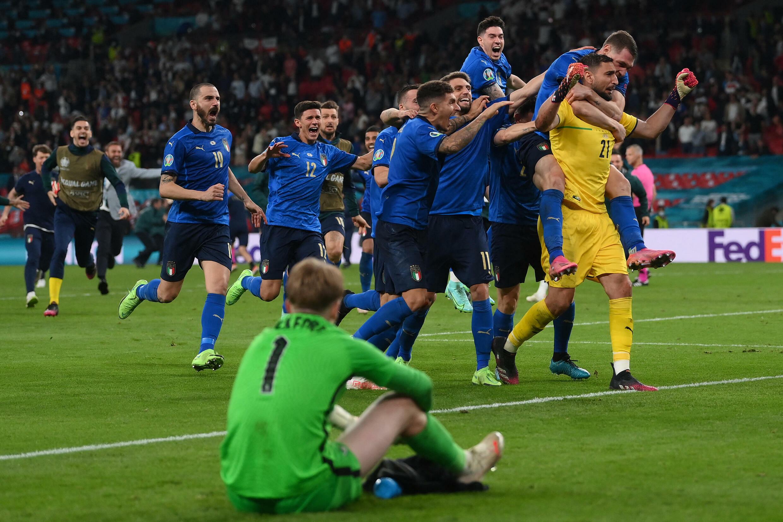 Itália  - Euro2020 - England - Italy - Italie - Inglaterra - Angleterre - Futebol - Desporto - UEFA - Gianluigi Donnarumma - Jordan Pickford