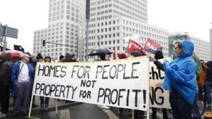Entre 10000 et 25000 personnes, selon la police et les organisateurs, ont manifesté à Berlin pour dénoncer la «folie des loyers» dans les grandes villes d'Allemagne. (image d'illustration)