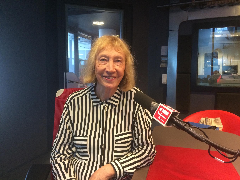 La romancière Chantal Thomas invitée à RFI.