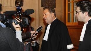 Olivier Morice, lawyer for the plaintiffs