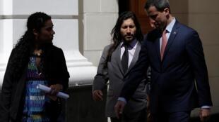 Juan Guaido, le 17 décembre dernier à Caracas. «Je ne suis pas très enthousiasmé par Guaidó mais j'ai l'impression que personne ne peut le remplacer. Disons que c'est le moins mauvais», témoigne Carlos au micro de notre correspondant à Caracas.