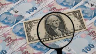 Đồng bảng Thổ Nhĩ Kỳ khốn đốn vì đô la Mỹ.