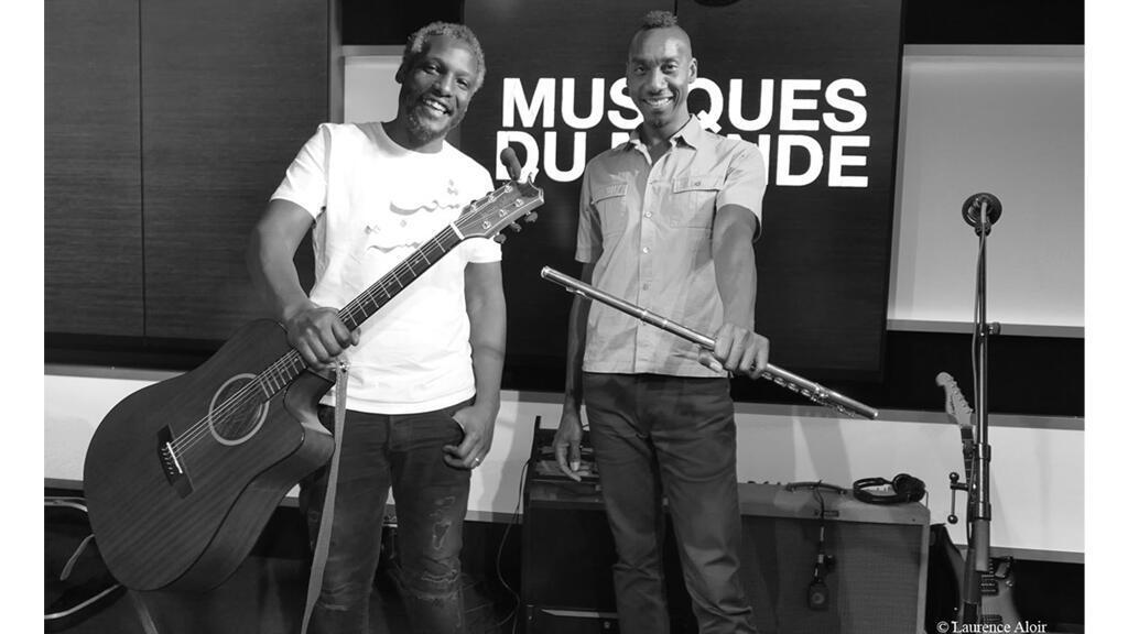 Sabry Mosbah et Yann Cléry à RFI.