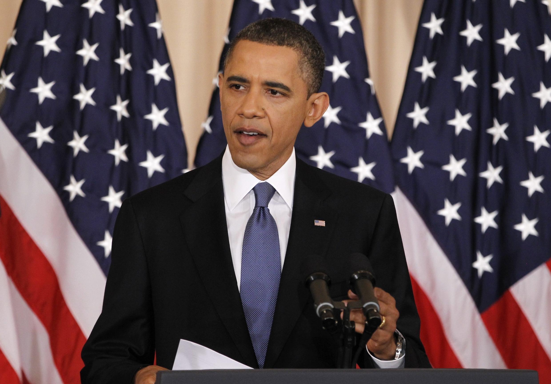Barack Obama s'est montré sensible à l'éclosion du printemps arabe lors de son discours.