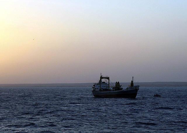 File photo of merchant ship Al Marjan released by Somali pirates December 2007