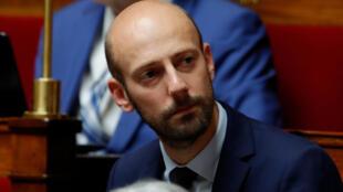 Stanislas Guerini, député La Republique En Marche (LREM) est candidat pour diriger son parti.