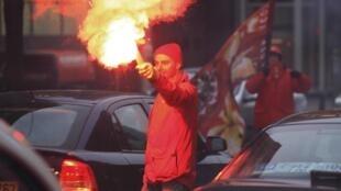 Paralisação ocorre em protesto a medidas de austeridade na Bélgica