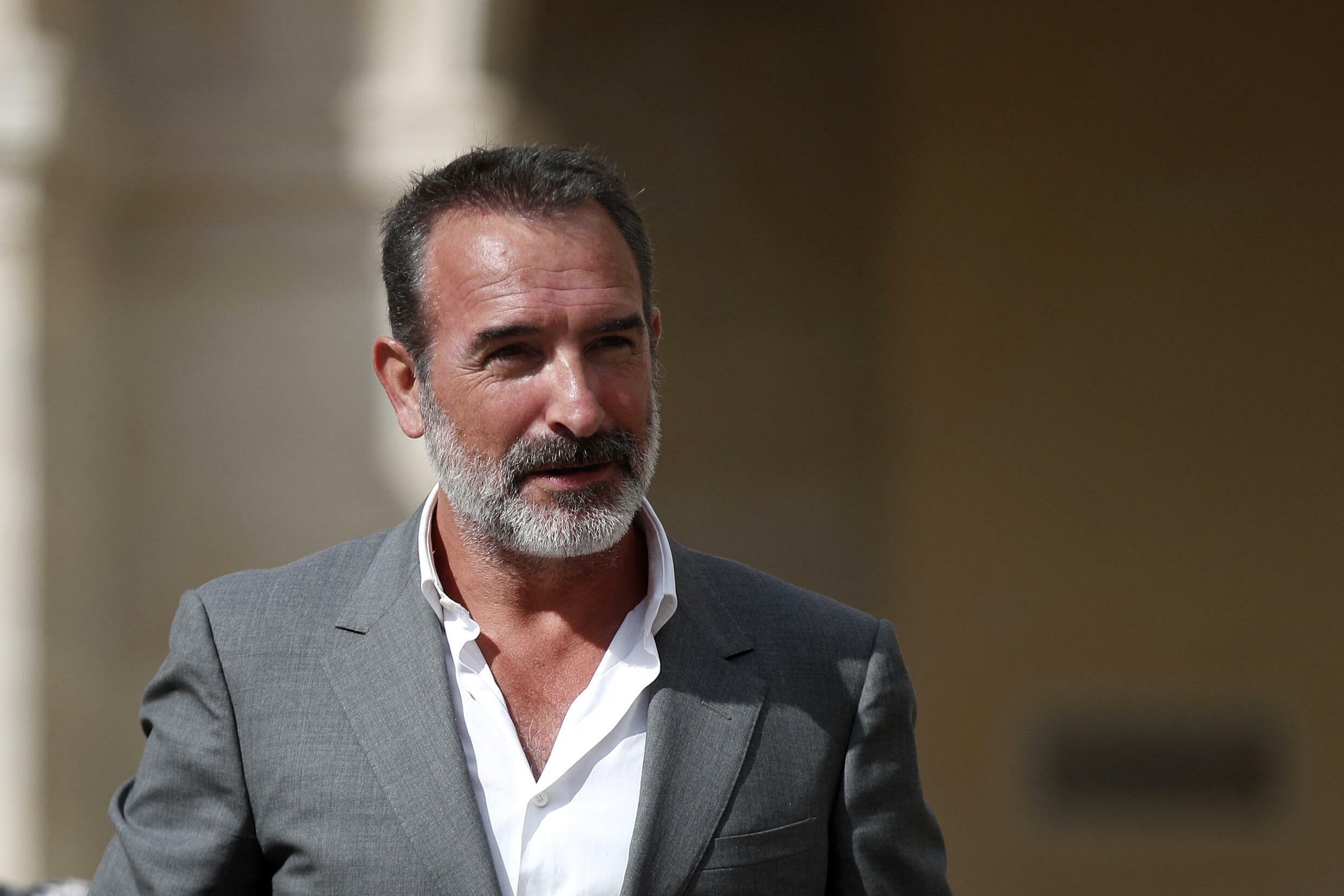 French actor Jean Dujardin.