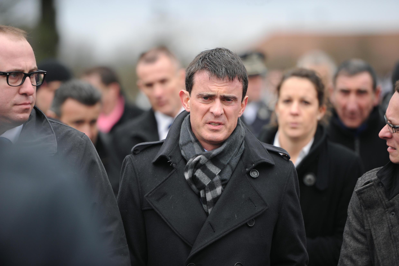 O premiê francês Manuel Valls