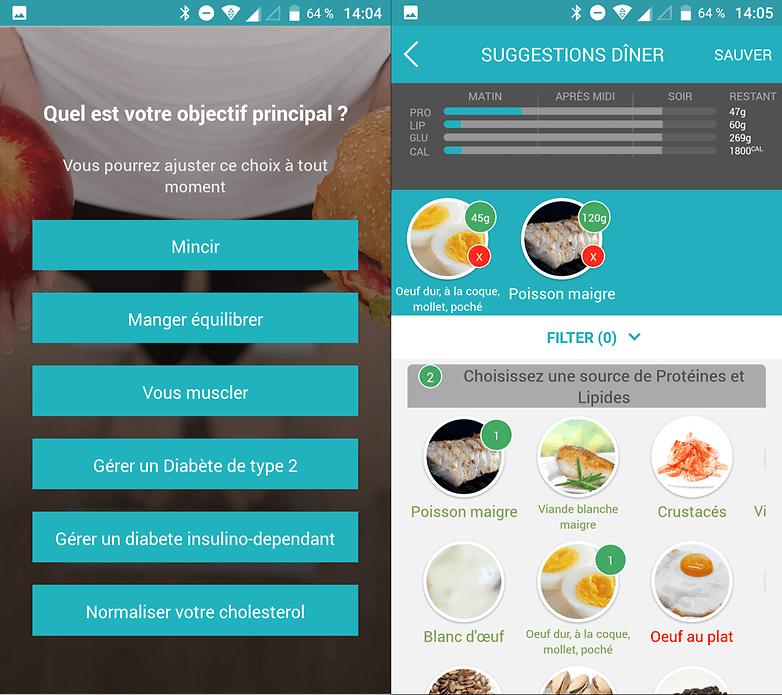 La aplicación propone varios programas de nutrición, según la necesidad del usuario.