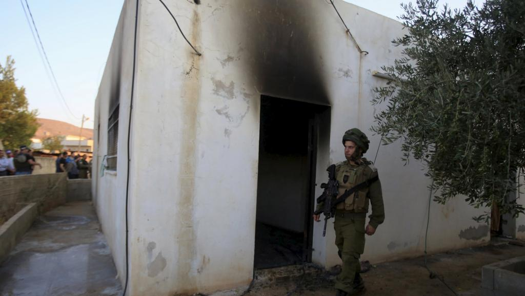 Место преступления, палестинская деревня Дума