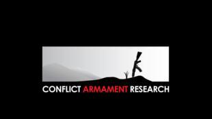 """لوگو """"مرکز پژوهشهای درگیریهای مسلحانه"""" C.A.R"""