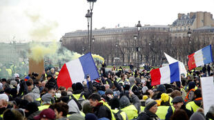 Yellow Vest demonstration: act X, 19 January 2019