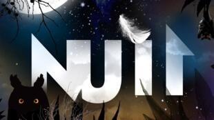 Affiche de l'exposition consacrée à la NUIT au Mnhn.