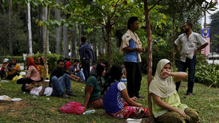 'Yan gudun hijira daga kabilar Rohingya Musulmi daga Myanmar