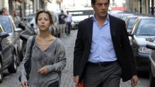 Tristane Banon in Paris, 5 July 2011